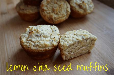 Lemon Chia SeedMuffins